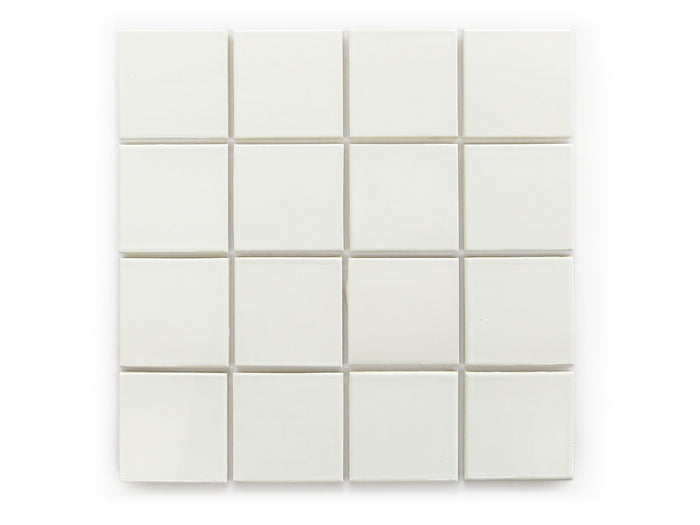 "3""x3"" Subway Tile - 11 Deco White"