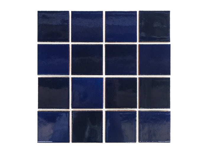 "3""x3"" Subway Tile - 21R Cobalt"