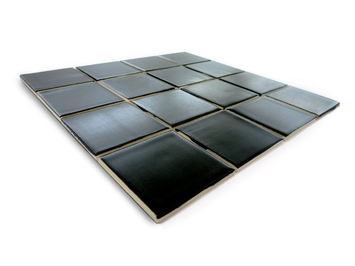 "3""x3"" Subway Tile - 366 Satin Black"