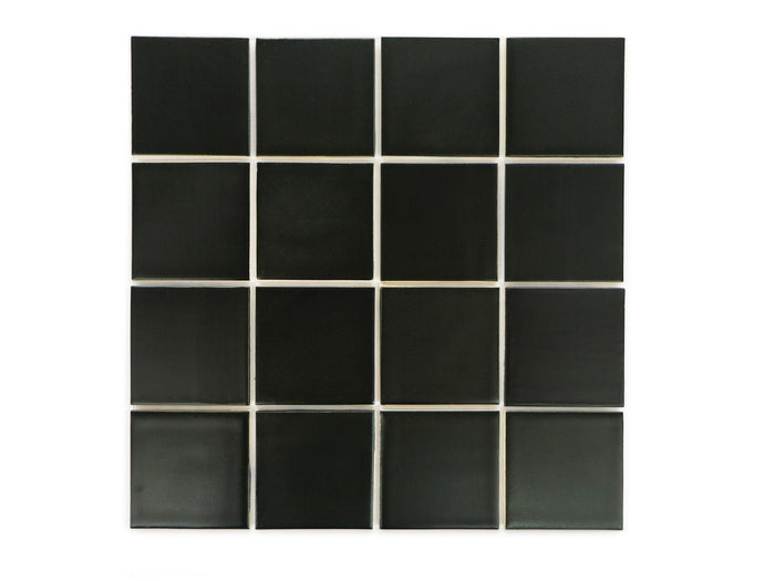 3x3 Subway Tile Satin Black