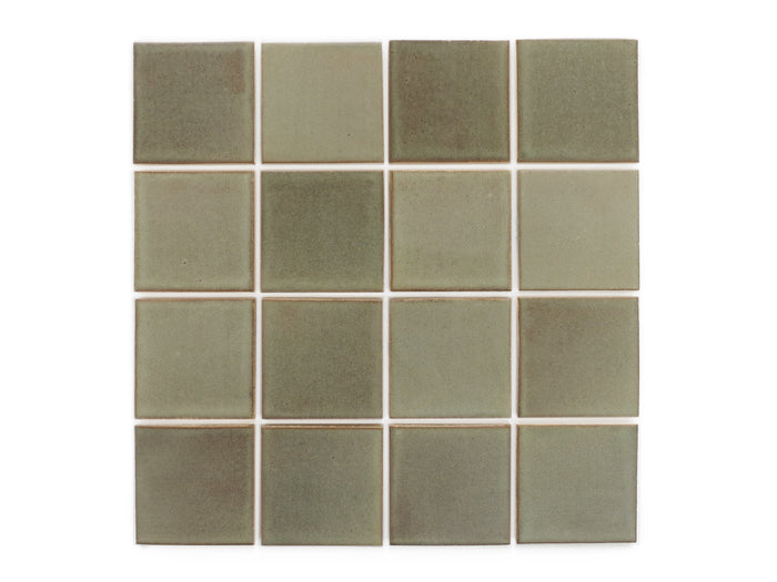 "3""x3"" Subway Tile - 406W Aged Moss"