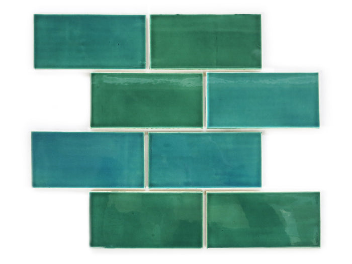"3""x6"" Subway Tile - 1017E Sea Mist"