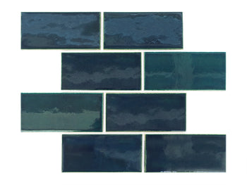 "3""x6"" Subway Tile - 1036W Bluegrass"