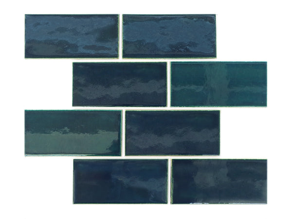 3x6 Subway Tile Bluegrass