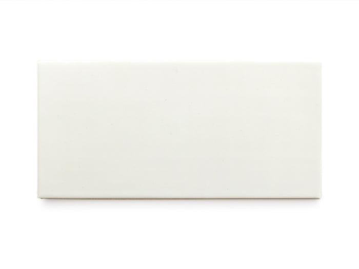 3x6 Subway Tile Deco White