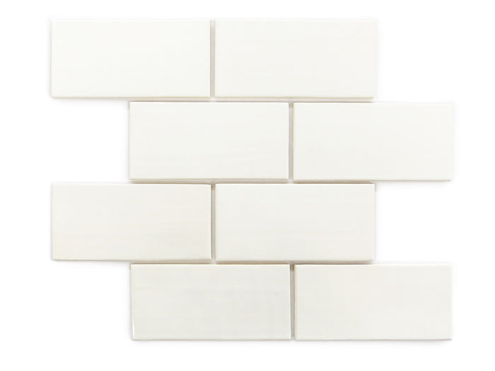 "3""x6"" Subway Tile - 11 Deco White"