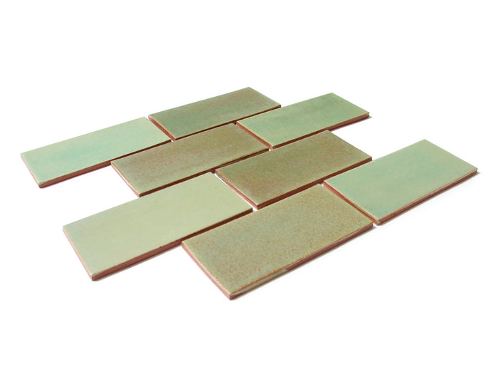 "3""x6"" Subway Tile - 123R Patina"