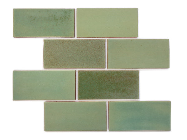 3x6 Subway Tile Patina