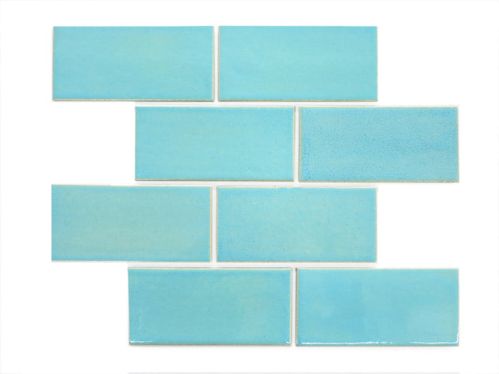 "3""x6"" Subway Tile - 12W Blue Bell"