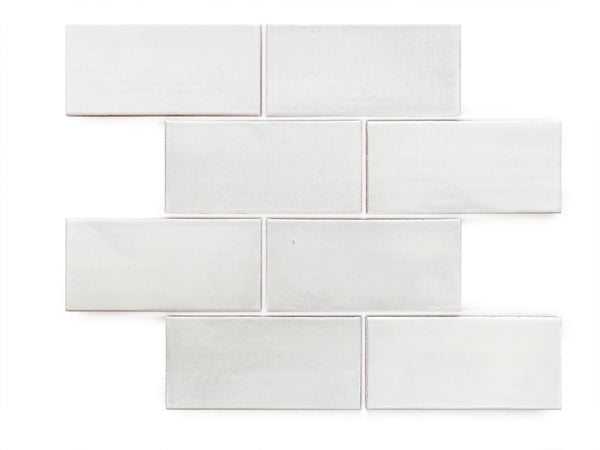 3x6 Subway Tile White
