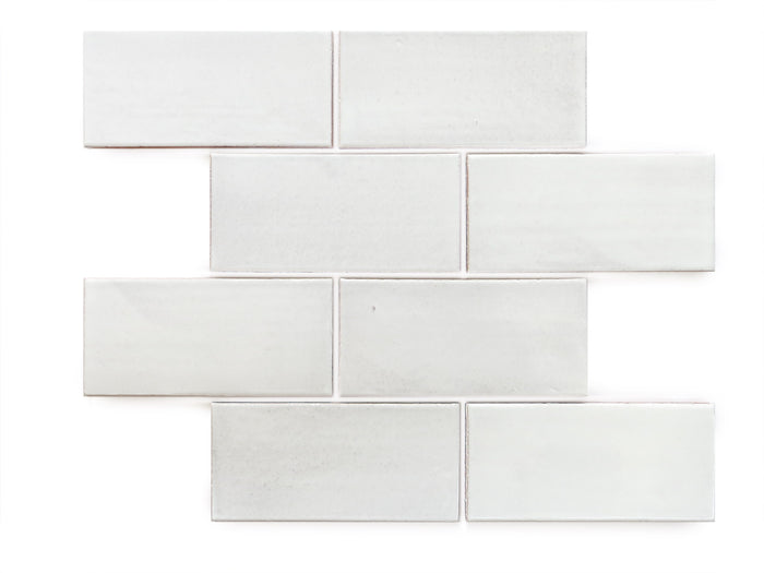 "3""x6"" Subway Tile - 130 White"
