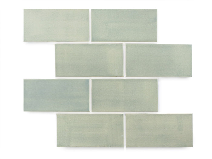 "3""x6"" Subway Tile - 22E Blue Opal"