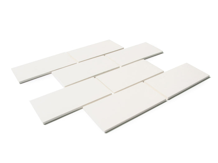 "3""x6"" Subway Tile - 301 Marshmallow"