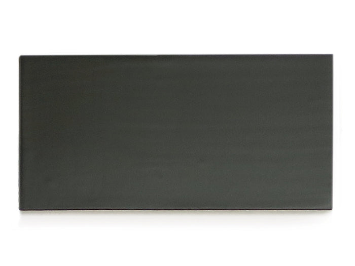 3x6 Subway Tile Satin Black