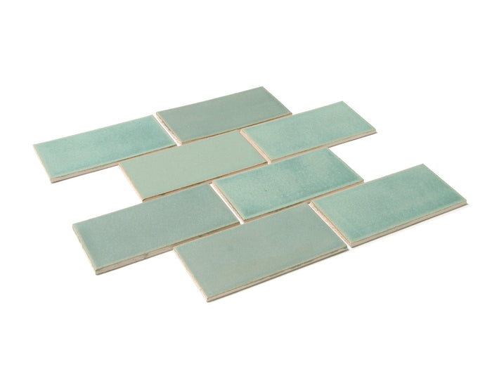 3x6 Subway Tile Old Copper