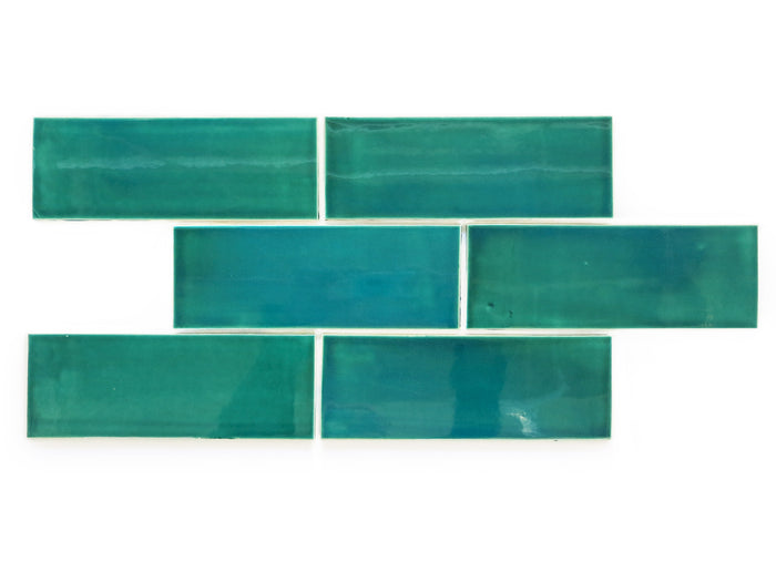 "3""x8"" Subway Tile - 1017E Sea Mist"