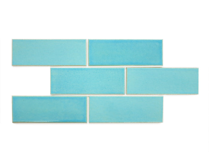 "3""x8"" Subway Tile - 12W Blue Bell"