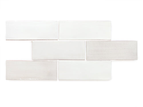 3x8 Subway Tile White