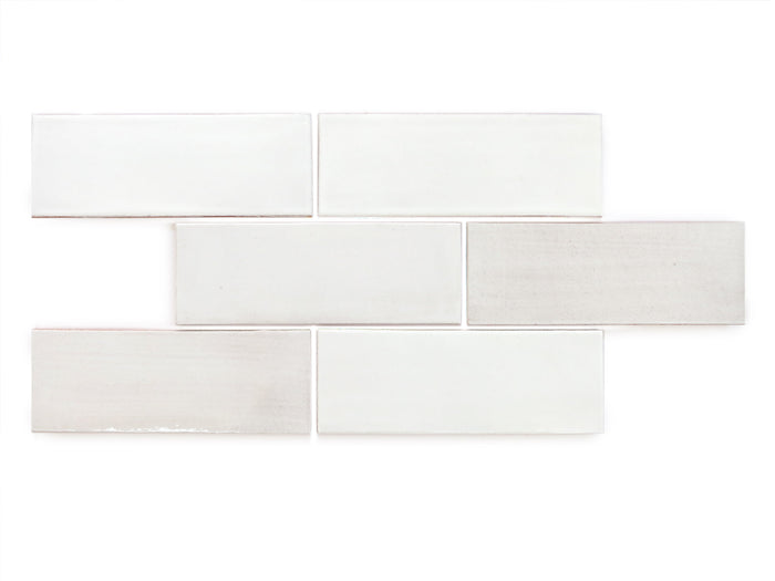 "3""x8"" Subway Tile - 130 White"