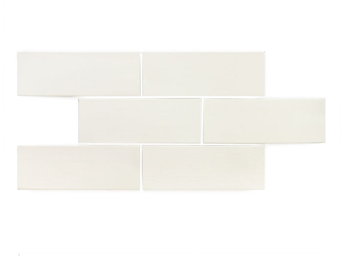 "3""x8"" Subway Tile - 301 Marshmallow"