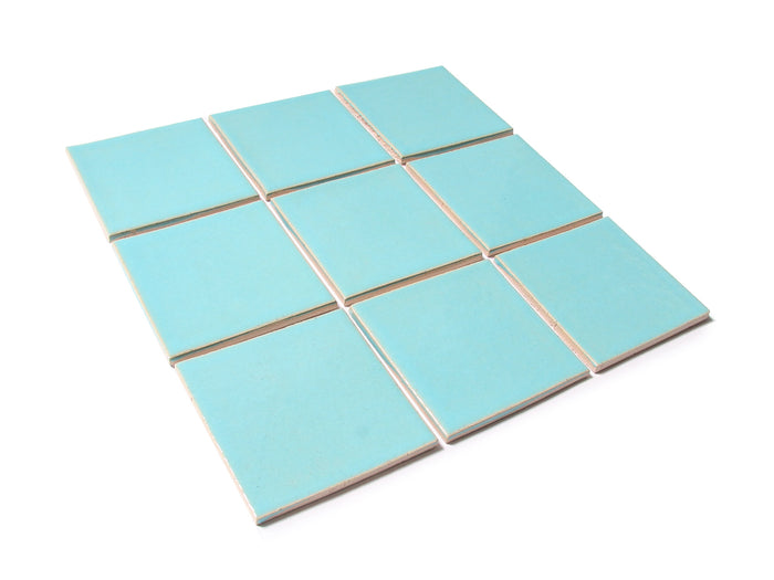 "4""x4"" Subway Tile - 12W Blue Bell"