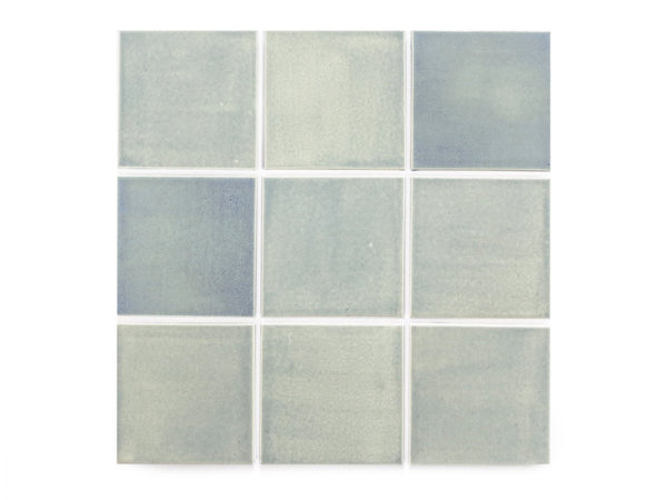 blue opal square 4x4 ceramic tiles