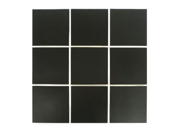 4x4 Subway Tile 366 Satin Black