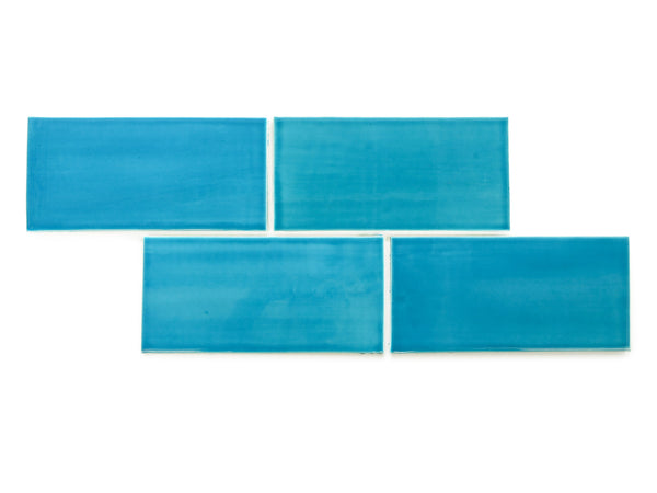 4x8 Subway Tile Caribbean Blue