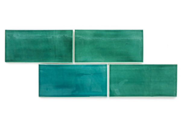 4x8 Subway Tile Sea Mist Green