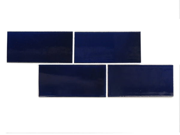 4x8 Subway Tile Cobalt