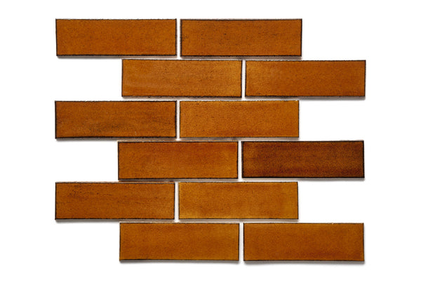 2x6 Subway Tile Amber