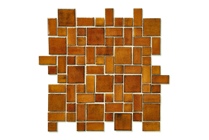 Small Craftsman Squares - 65W Amber