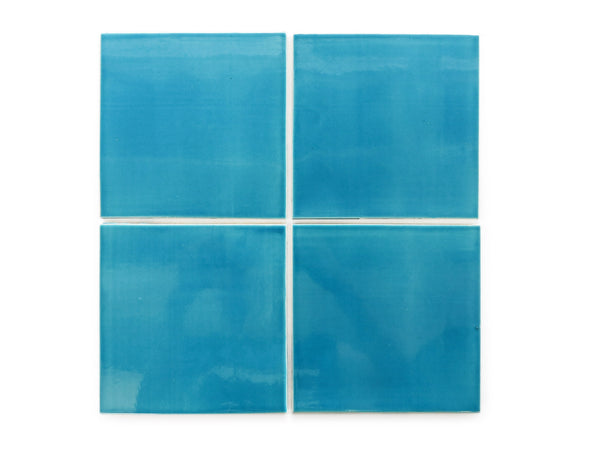6x6 Subway Tile Caribbean Blue