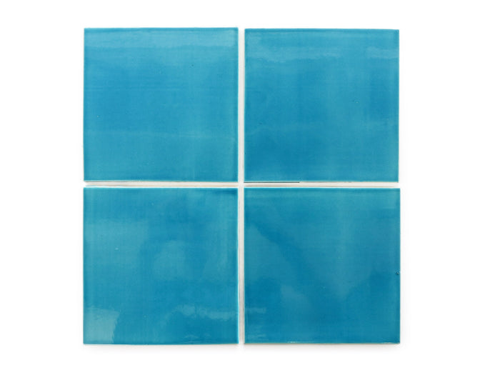"6""x6"" Subway Tile - 1015E Caribbean Blue"