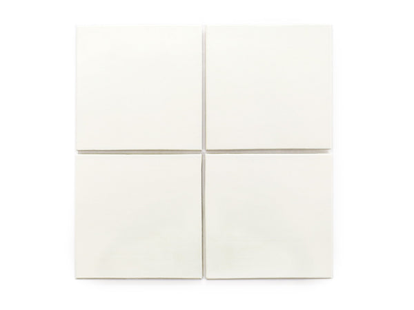 6x6 Subway Tile Deco White