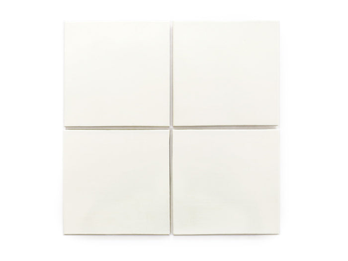 "6""x6"" Subway Tile - 11 Deco White"