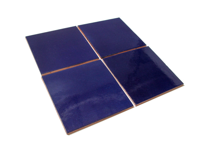 "6""x6"" Subway Tile - 21R Cobalt"
