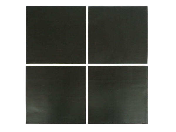 6x6 Subway Tile Satin Black