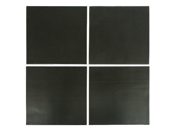 "6""x6"" Subway Tile - 366 Satin Black"