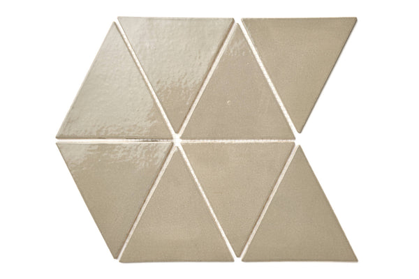Large Triangle - 815W Light Grey