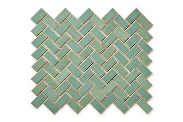 Herringbone pattern - Old Copper