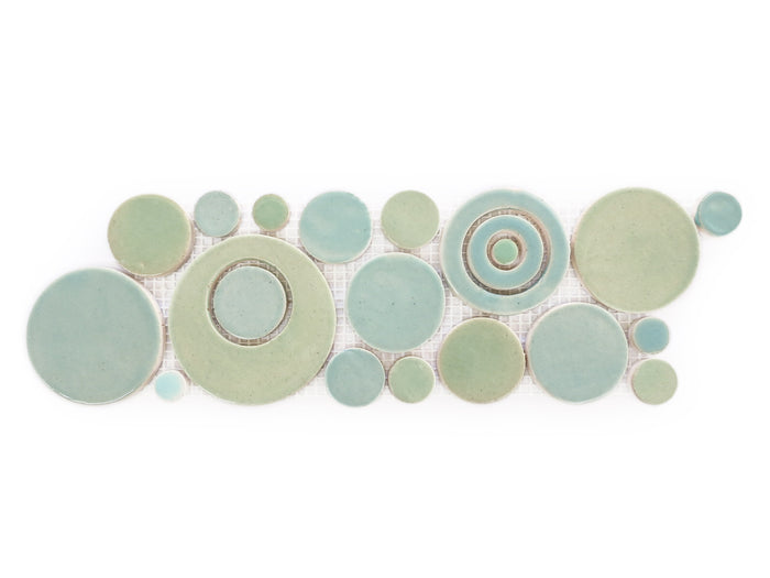 Bubbles Trim - 216 Sea Glass + 214 Coastal Breeze