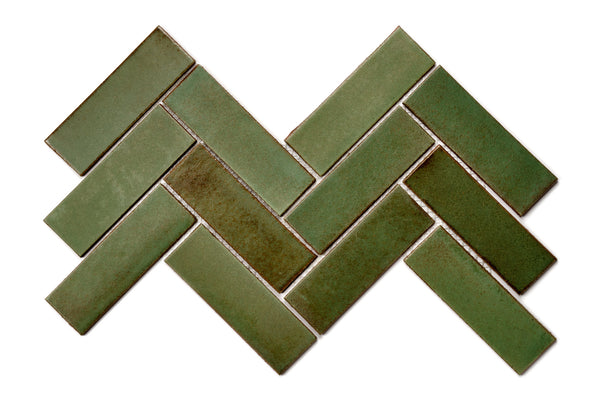 Herringbone Tile - 123R Patina