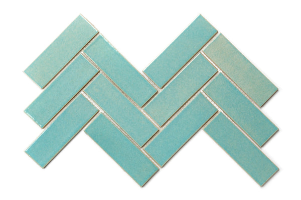 Herringbone Tile - 12W Blue Bell