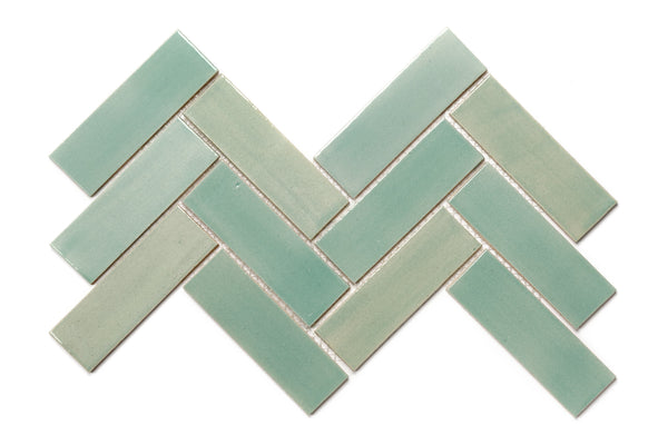 Herringbone Tile - 214 Coastal Breeze