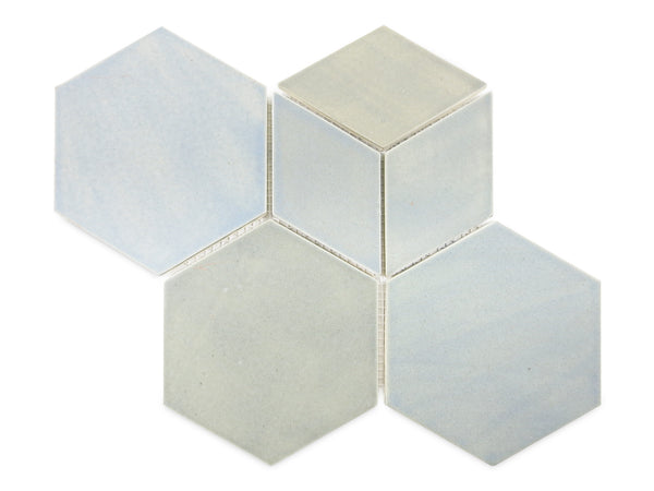 hexagon and diamond tile