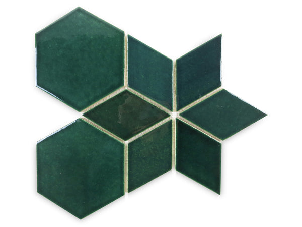 hexagon diamond star pattern 1036W bluegrass