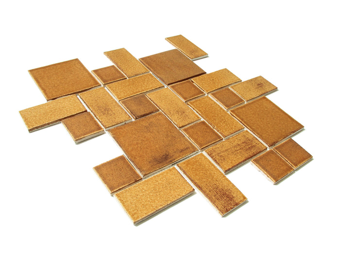 Large Craftsman Style Square Tiles Craftsman Tiles For