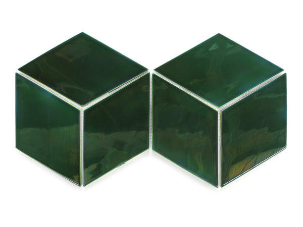 Large Diamonds- Green