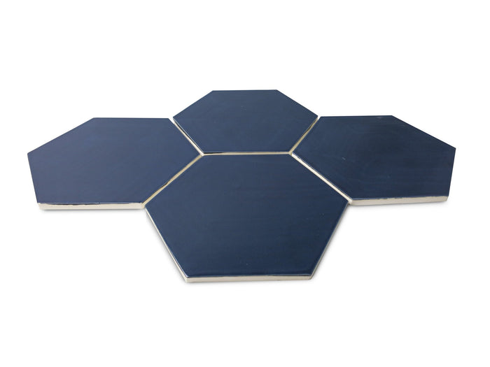 Large Hexagon - 61 Navy